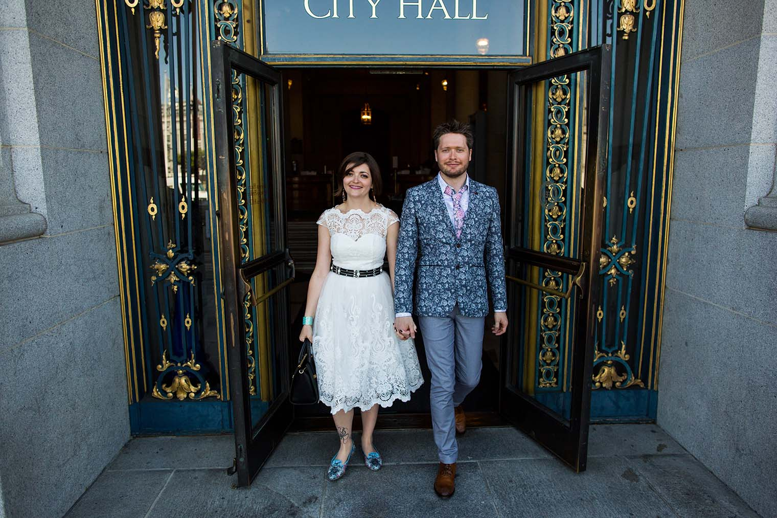 City Hall Wedding Photographer in San Francisco
