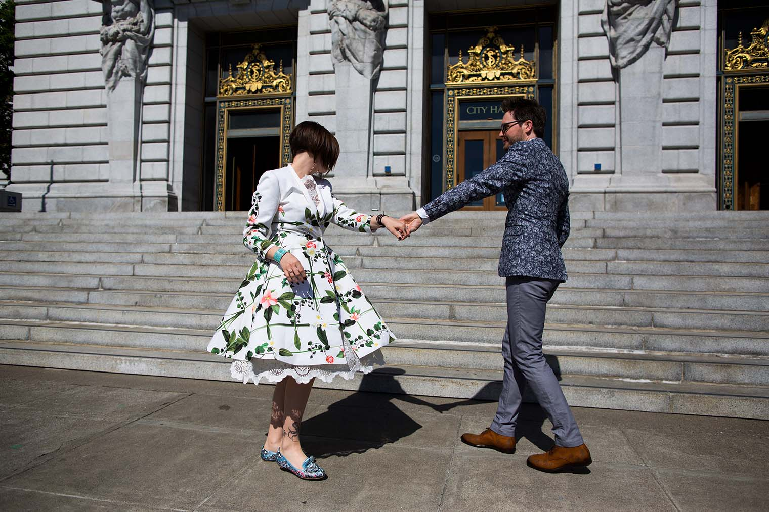 City Hall Wedding Photographer in SF