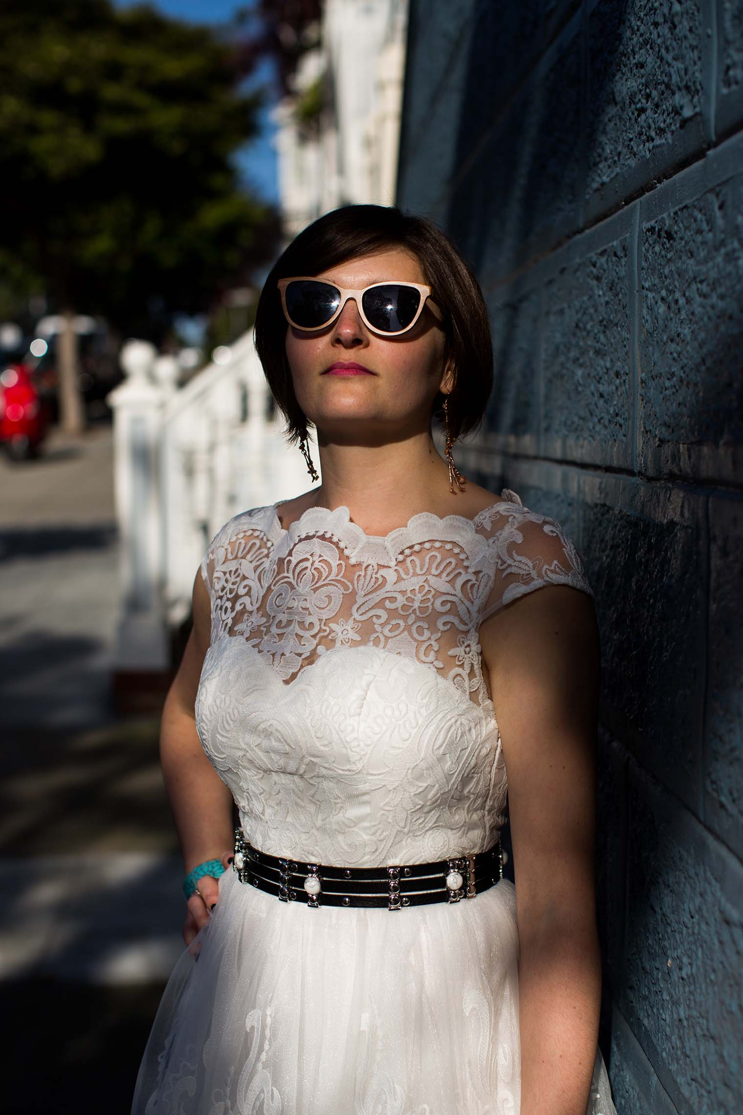 Bride portrait in San Francisco