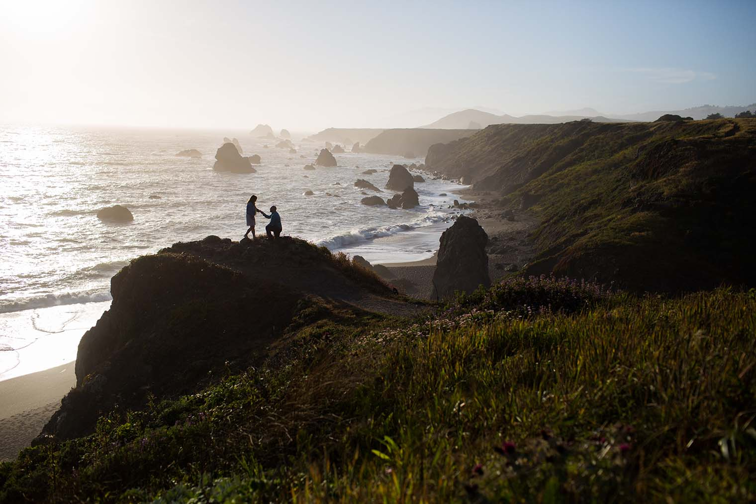 Proposal at Sonoma Coast State Park