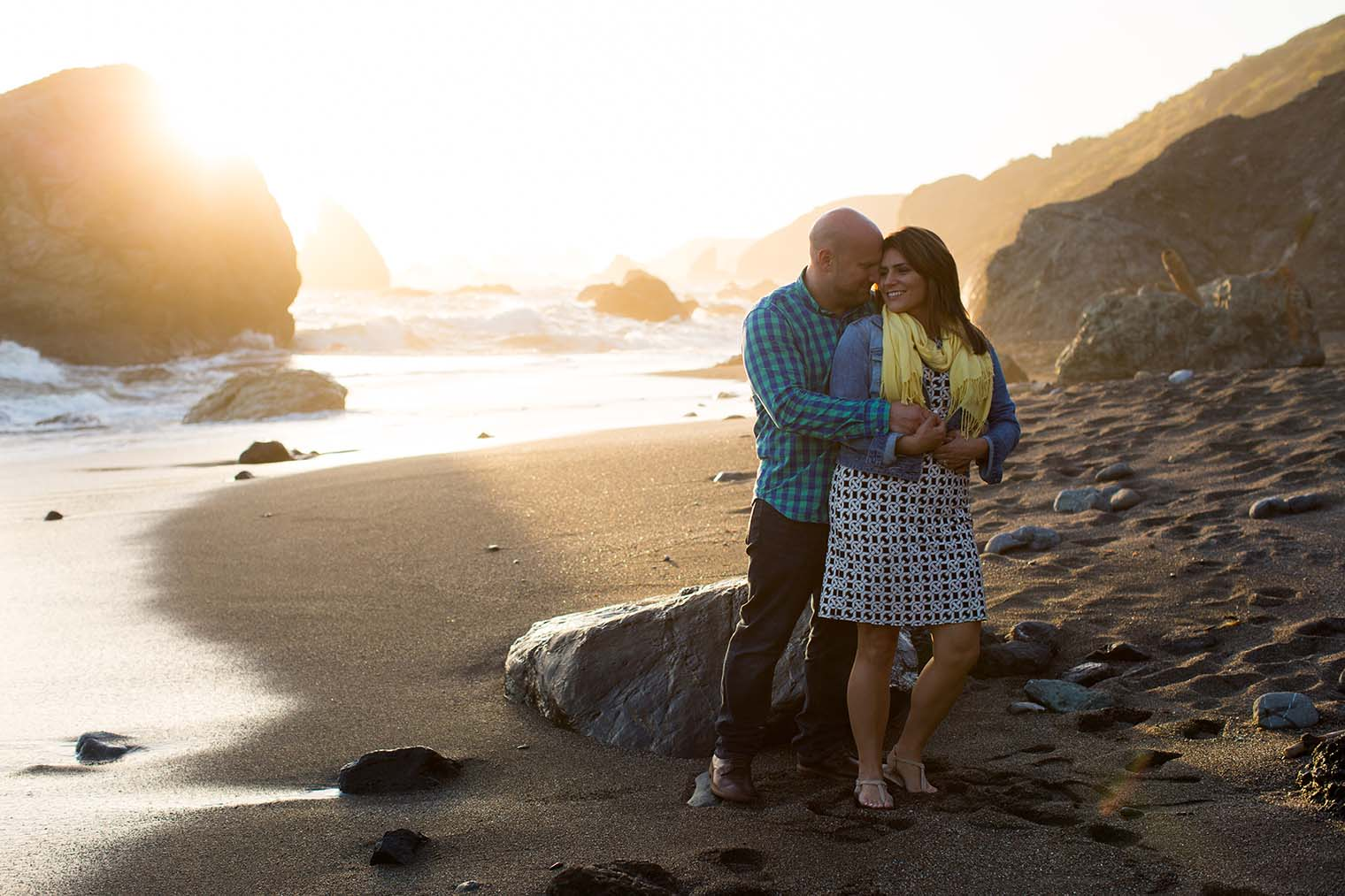 couple photos on Sonoma Coast