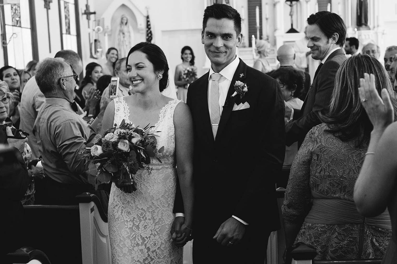 Saint Teresa of Avila Church wedding ceremony
