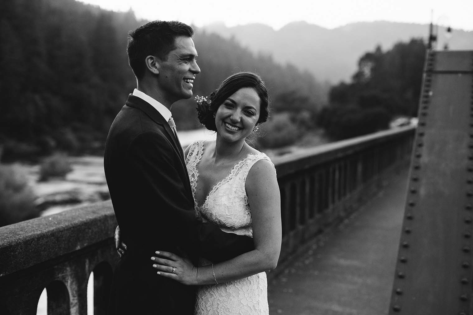 wedding portraits near Russian river