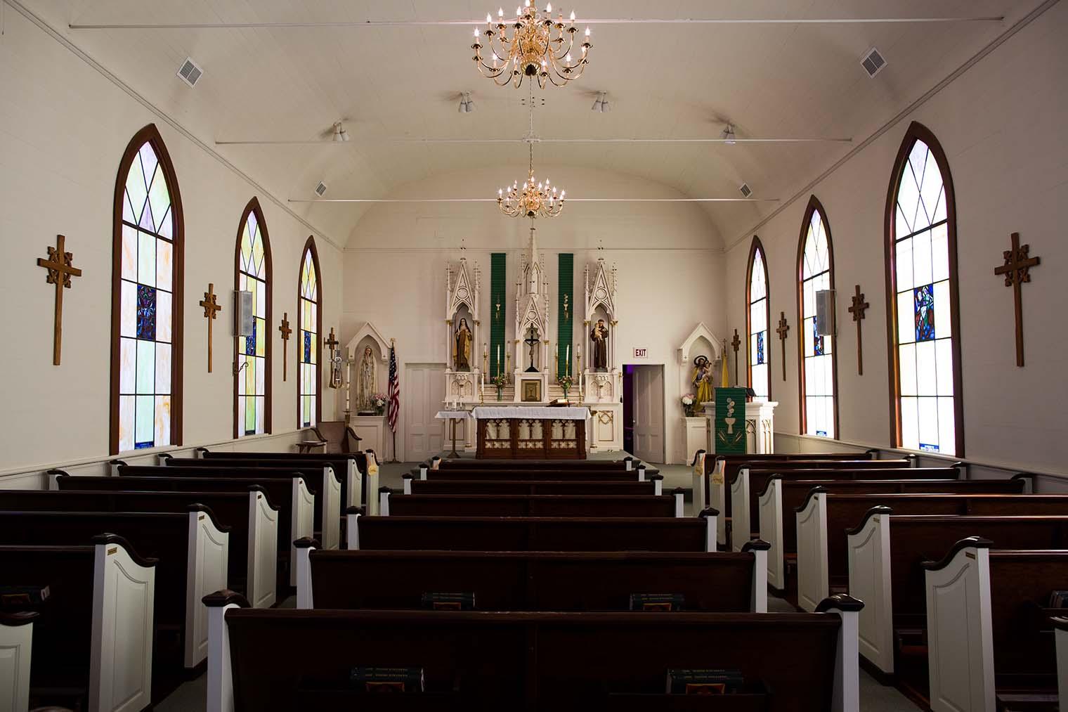 Saint Teresa of Avila Church in Bodega, CA