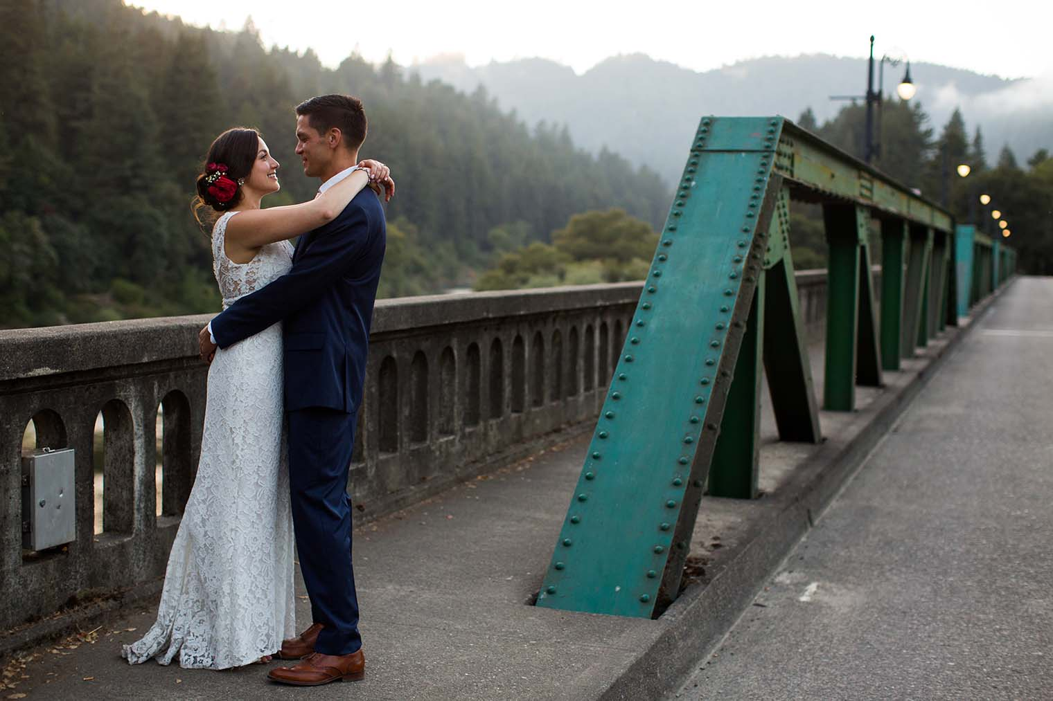 wedding photos near Russian river