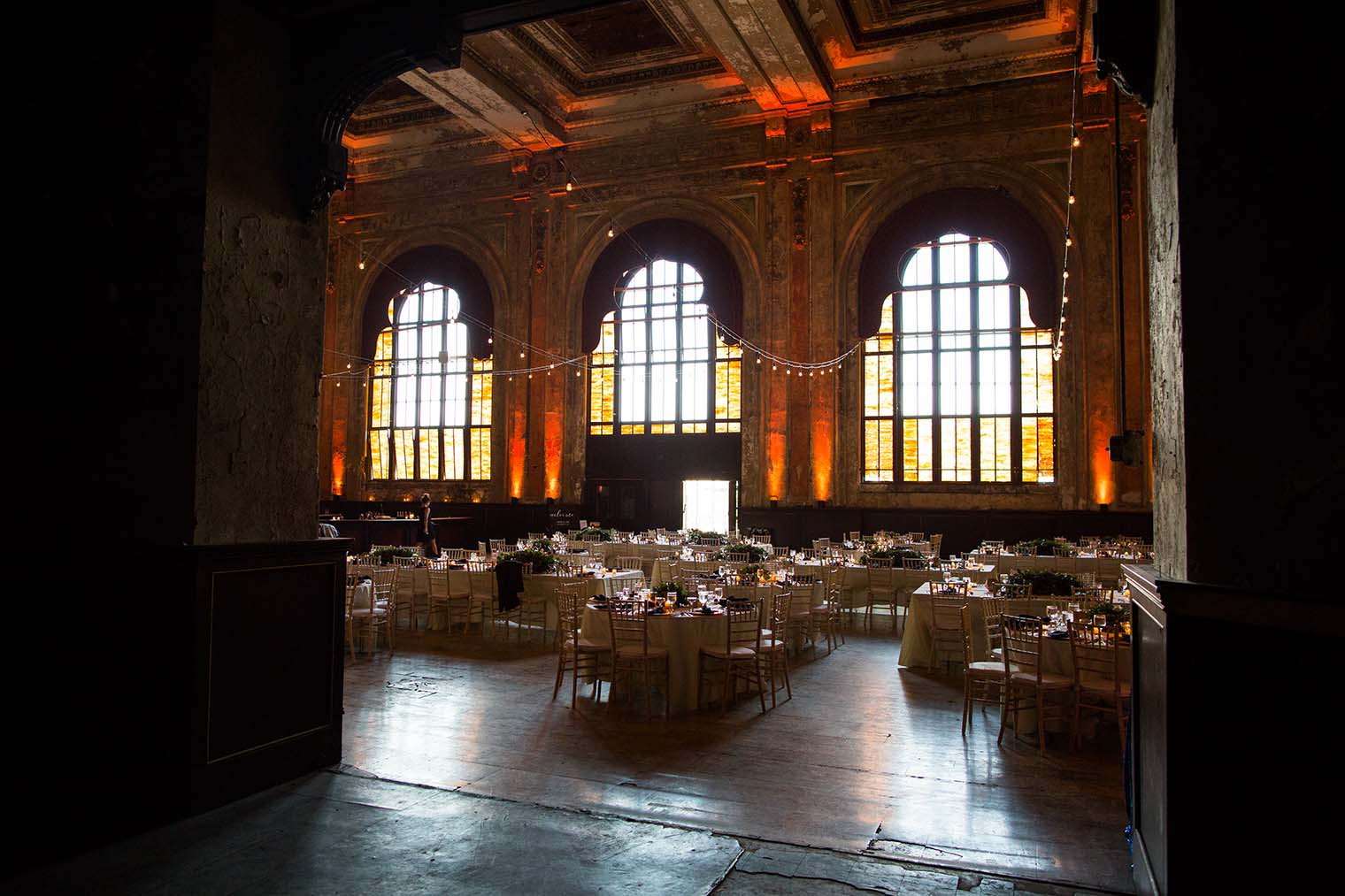 16th Street Station Wedding Reception Details