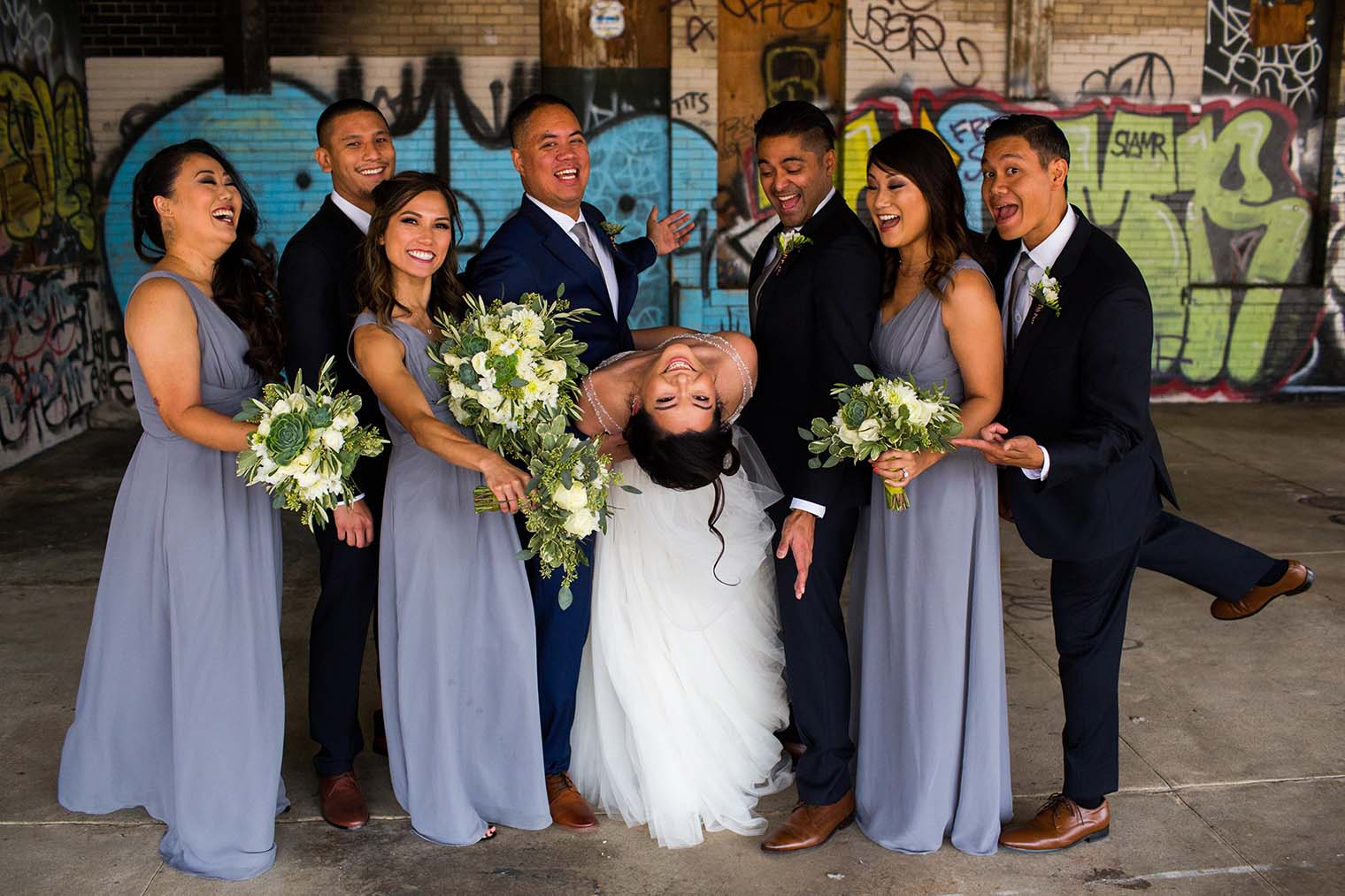 16th Street Station Wedding Bridal Party
