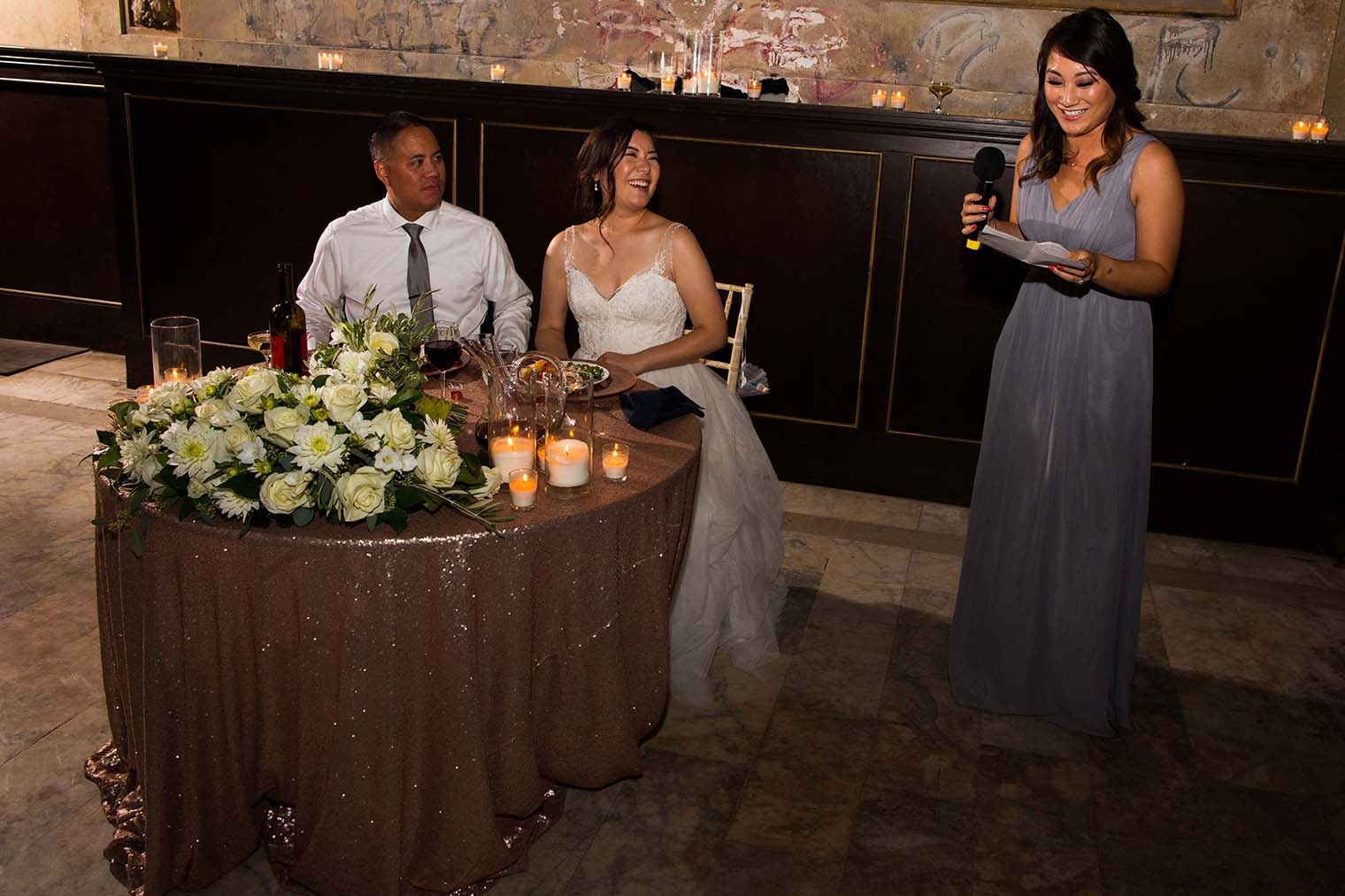 16th Street Station Wedding Toasts