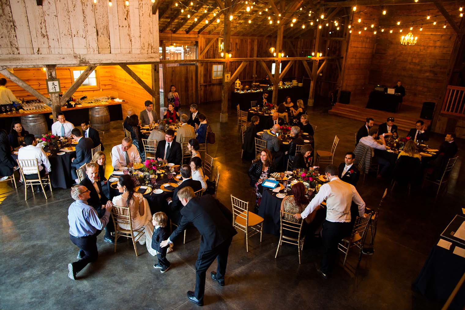 Olympia's Valley Estate Wedding Reception Photo