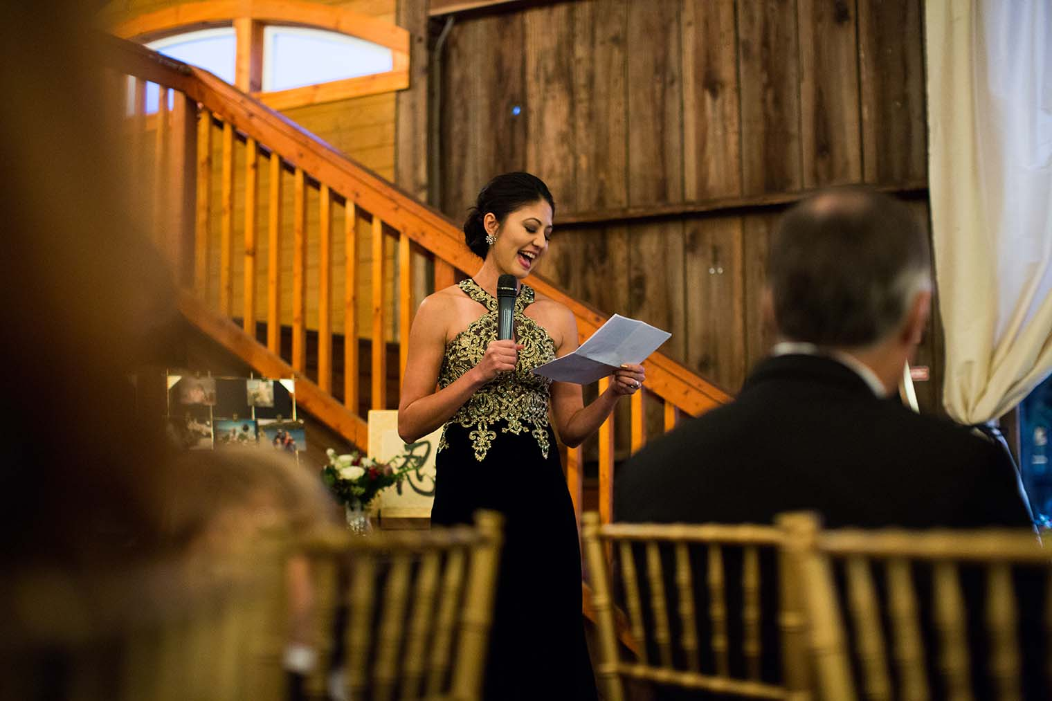 Olympia's Valley Estate Wedding Toasts