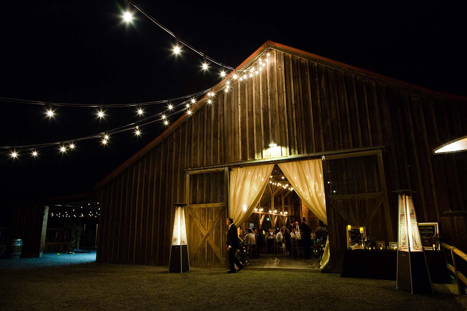 Olympia's Valley Estate Wedding Barn