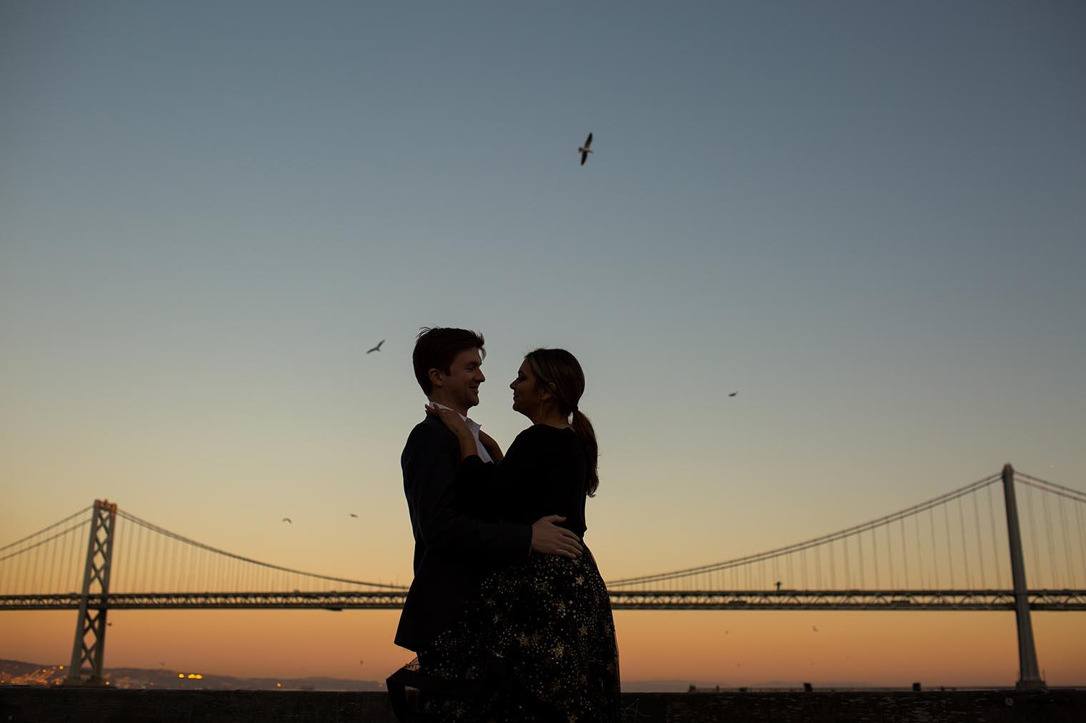 San Francisco Embarcadero Engagement Photos