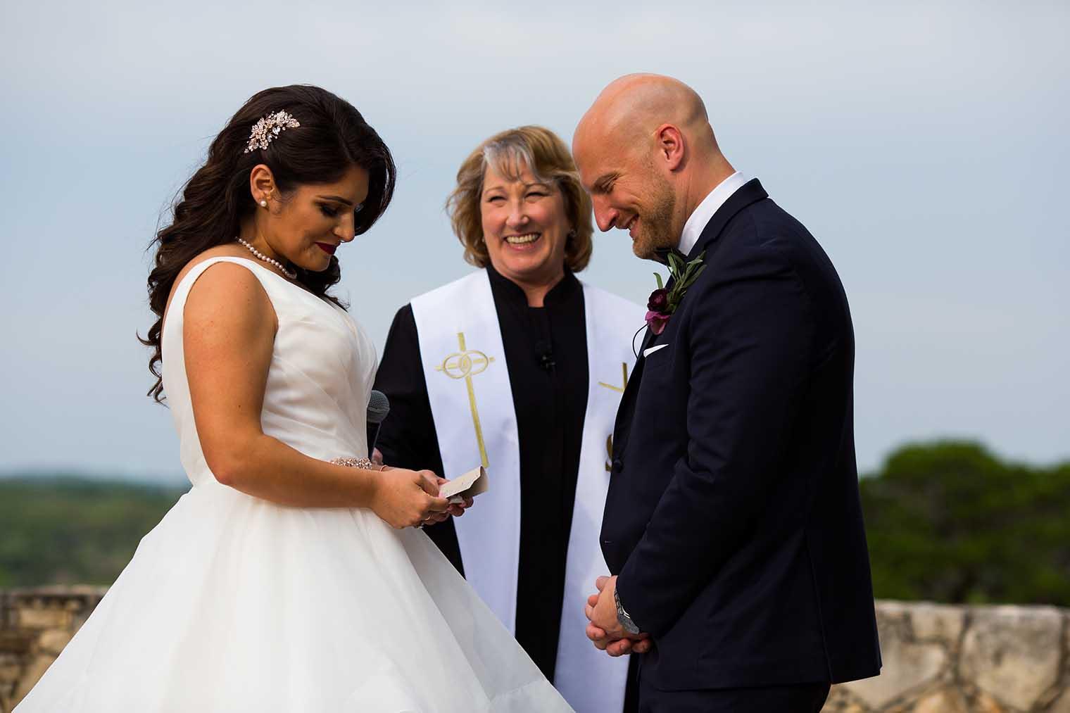 Camp Lucy Wedding Ceremony