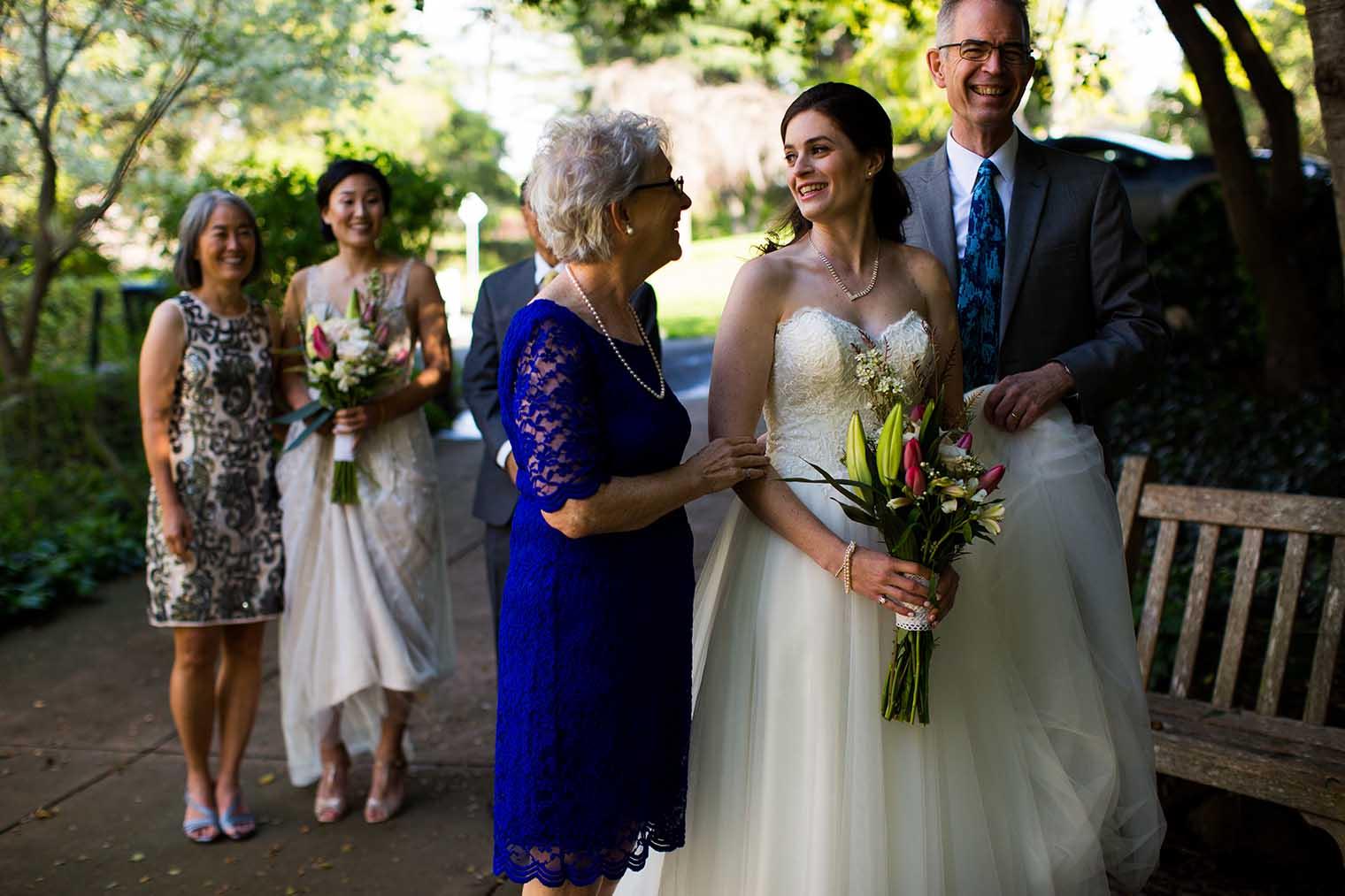 Piedmont Community Hall Wedding Ceremony