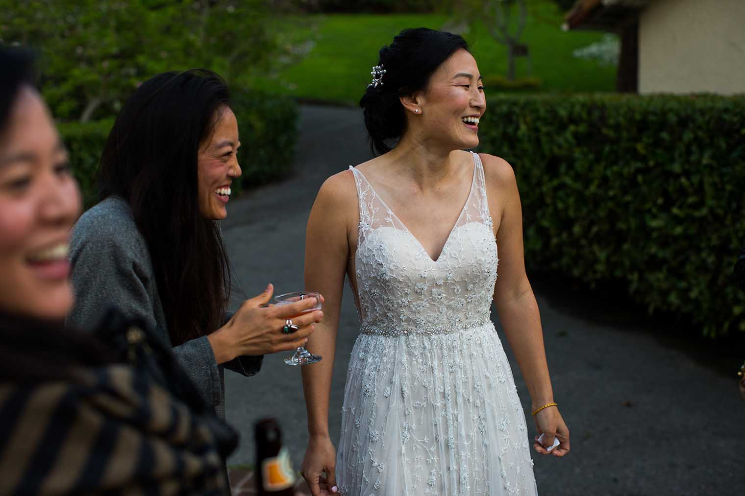 Piedmont Community Hall Wedding Cocktail Hour