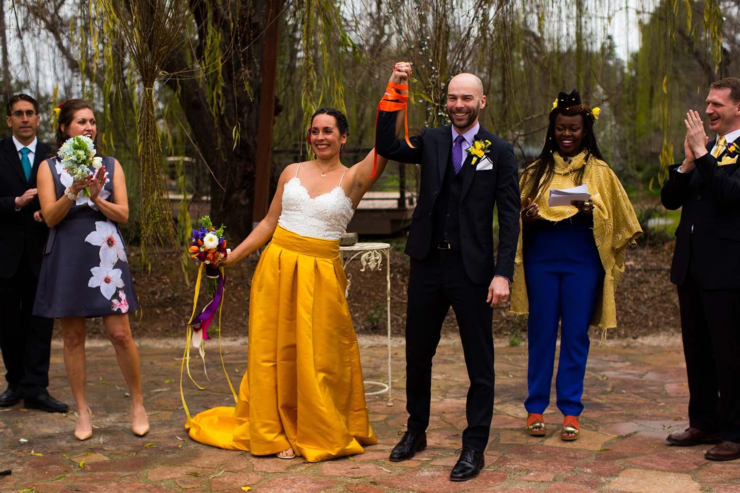 Union Hill Inn Wedding Ceremony