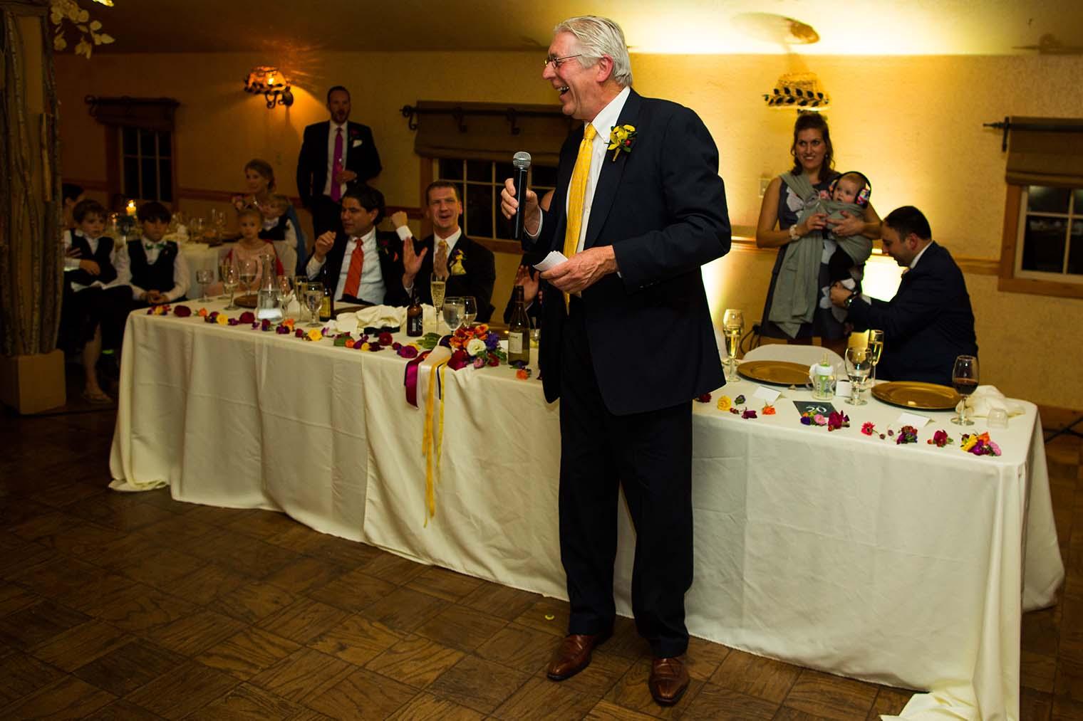 Union Hill Inn Wedding Toasts