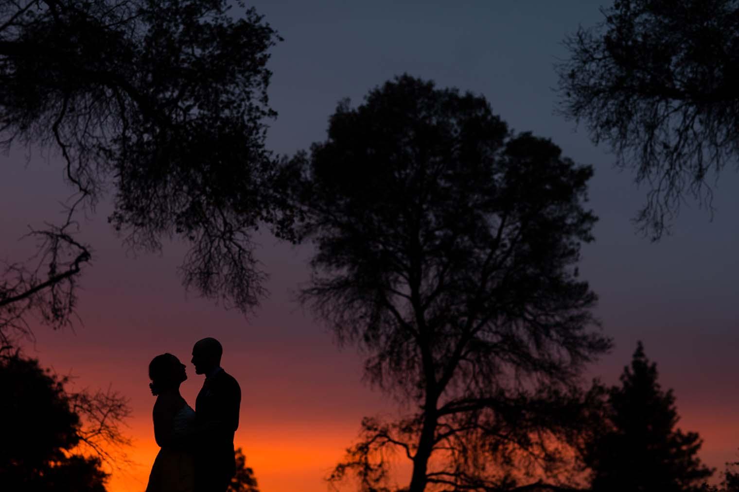 Union Hill Inn Wedding Sunset Couple Photos