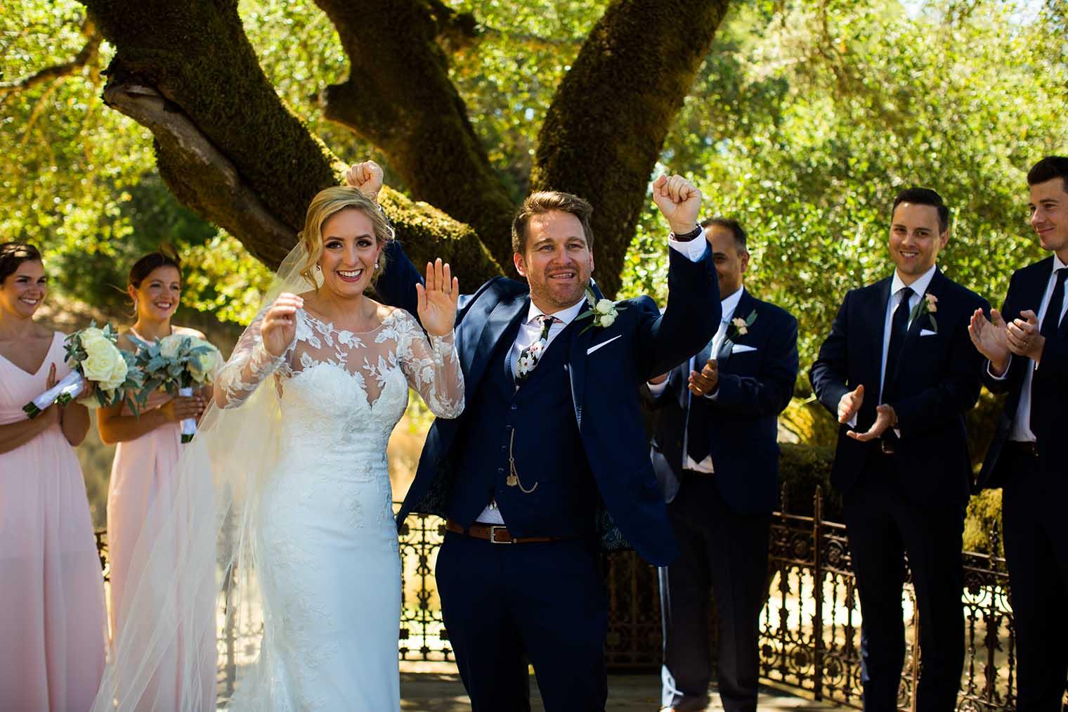 Mountain House Estate Wedding Ceremony