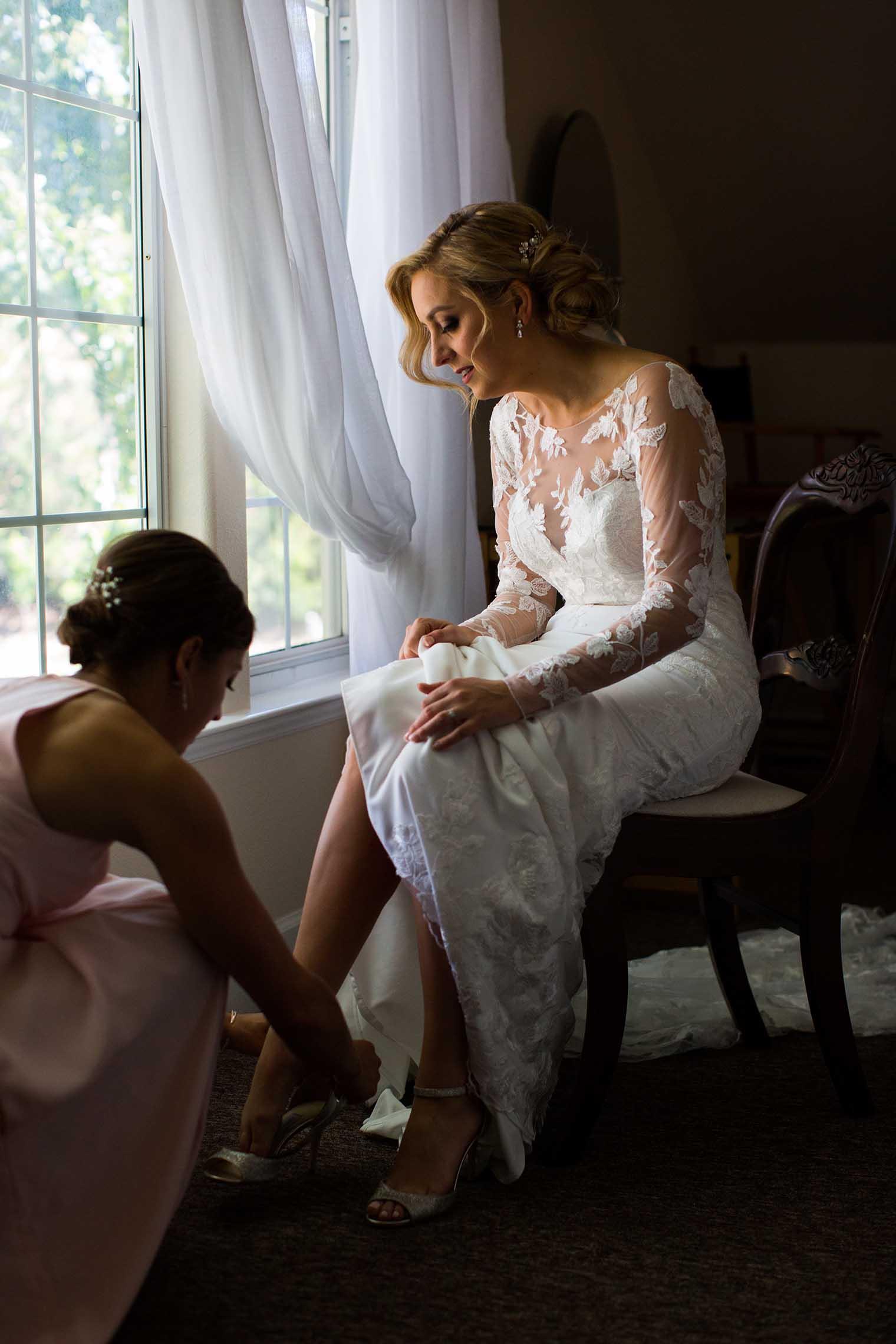 Mountain House Estate Wedding Bride Getting Ready