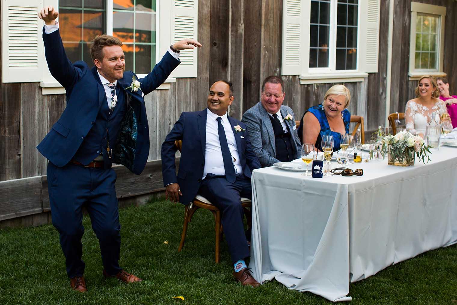 Mountain House Estate Wedding Reception