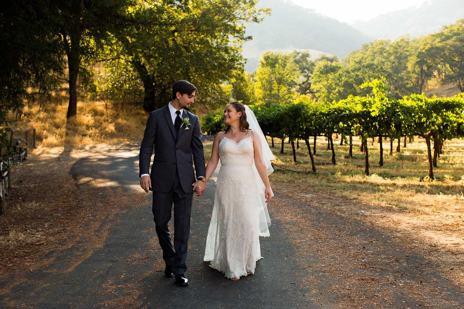 Nelson Family Vineyards Wedding