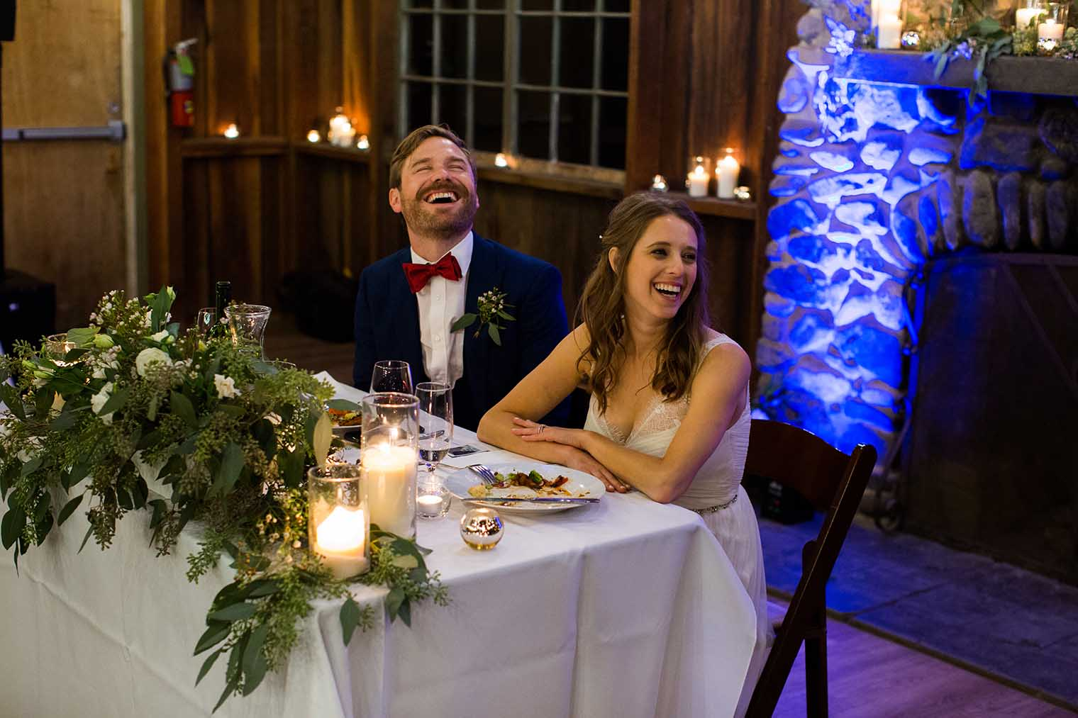 OVY Camp & Event Center Wedding Speeches