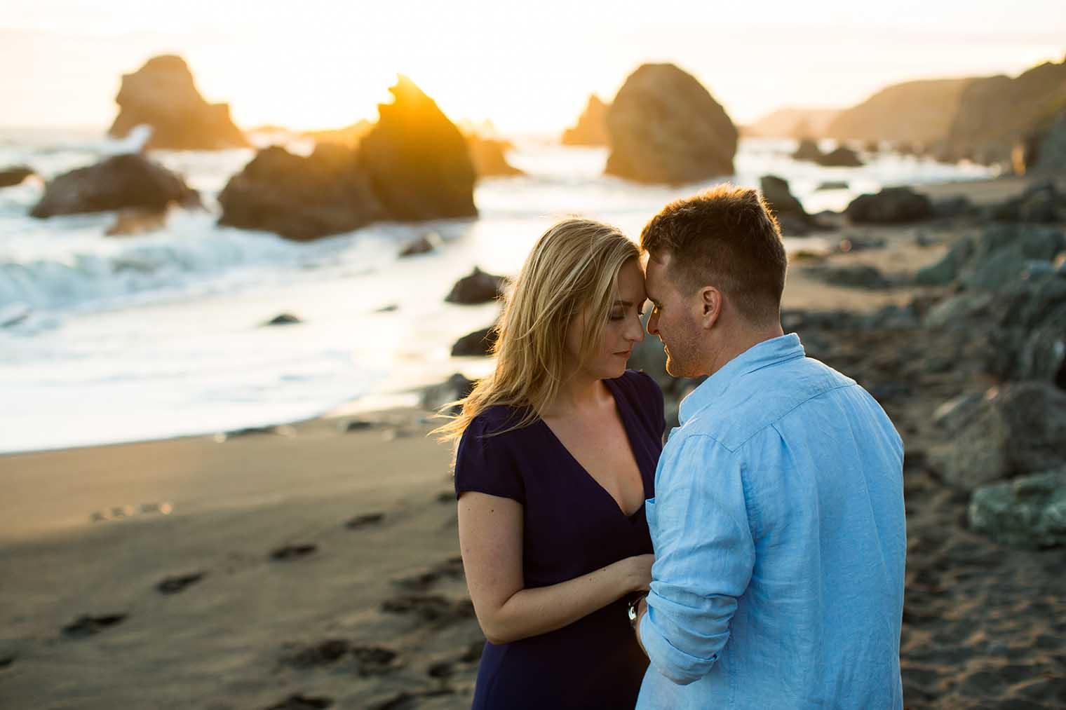 Sonoma Coast State Park Engagement Session