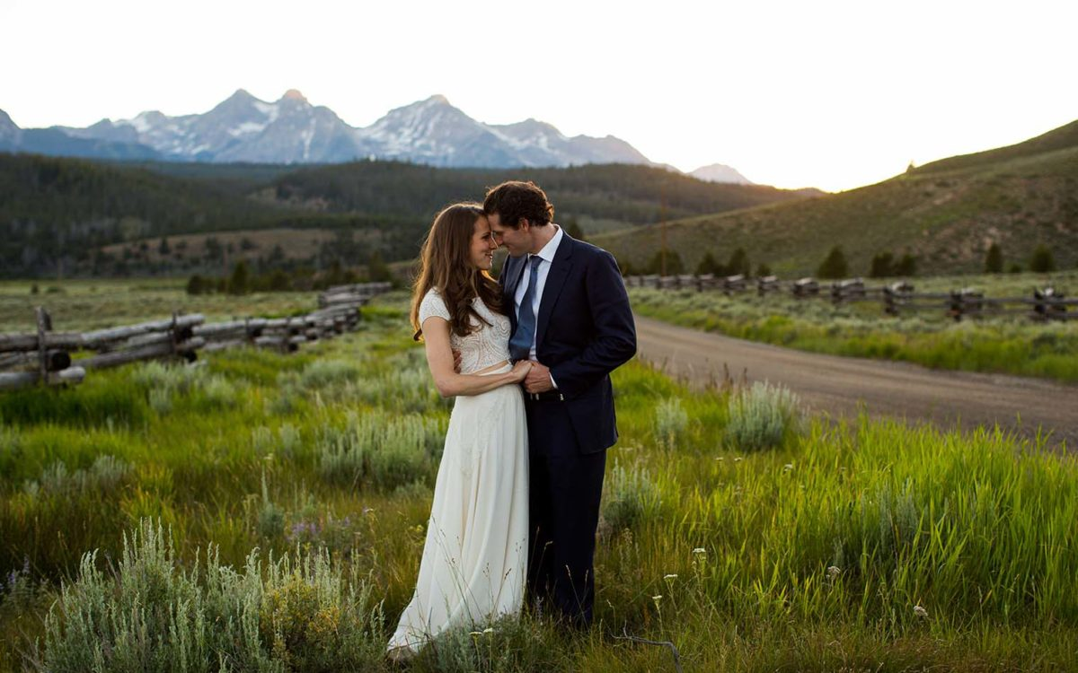 Idaho Rocky Mountain Ranch Wedding