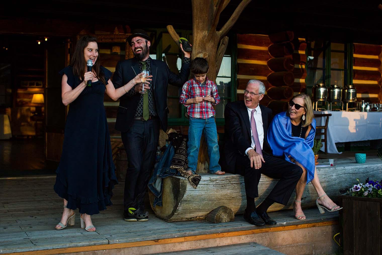 Idaho Rocky Mountain Ranch Wedding