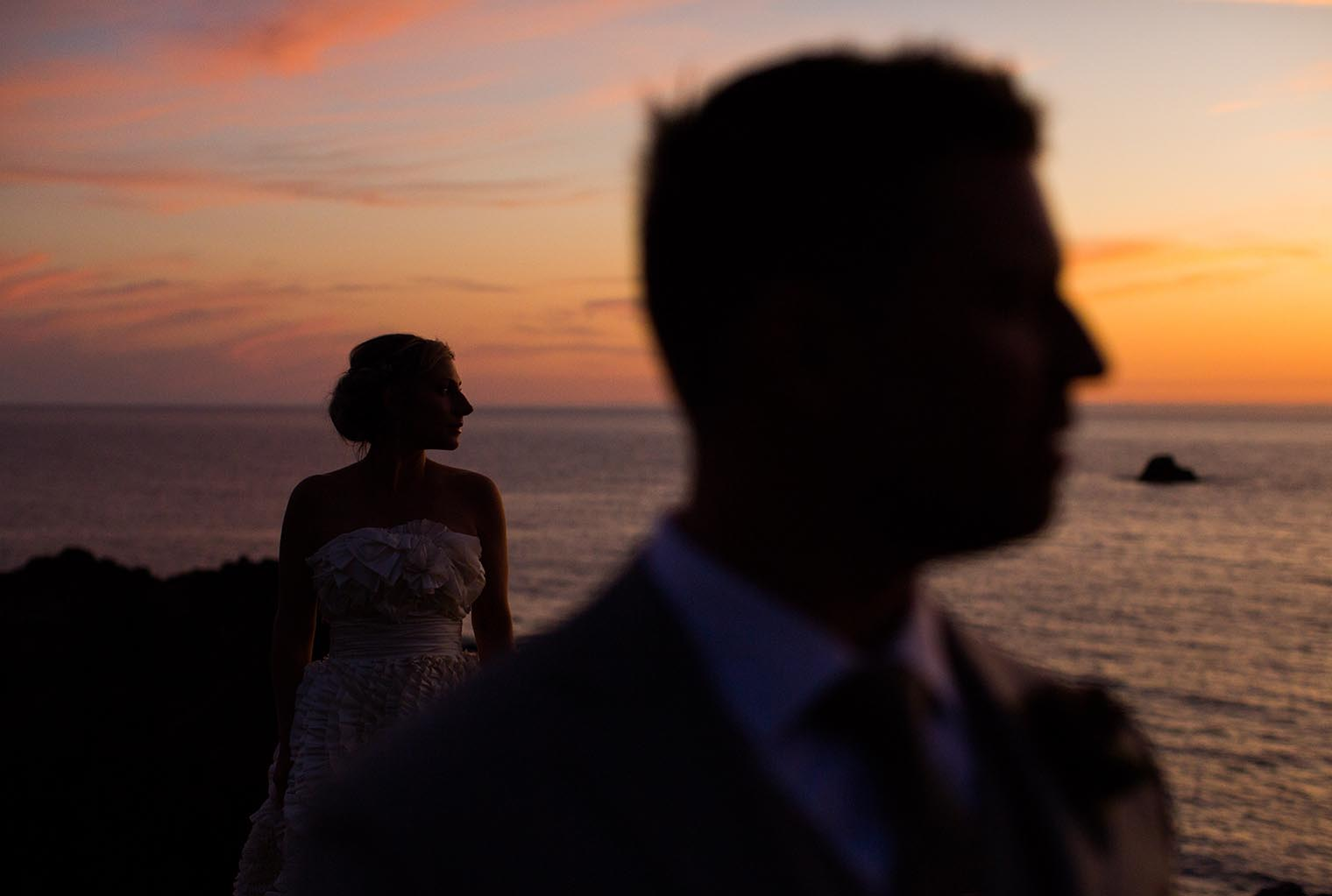 bride and groom at heritage house resort