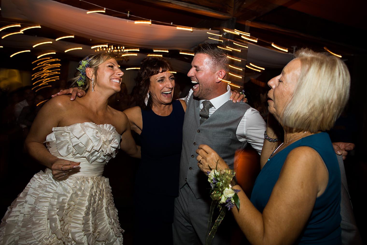 wedding reception at heritage house resort