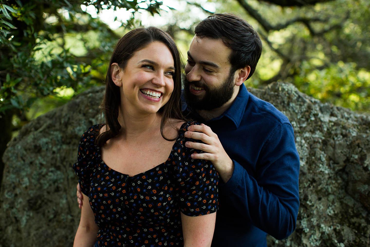 Mount Tamalpais Park Engagement Photos
