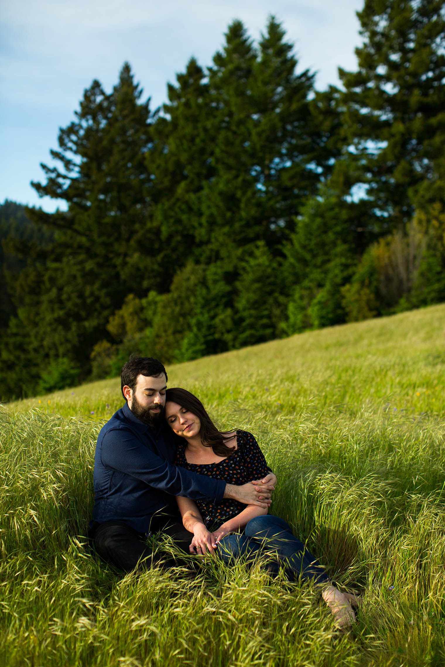 Engagement session at Mount Tamalpais