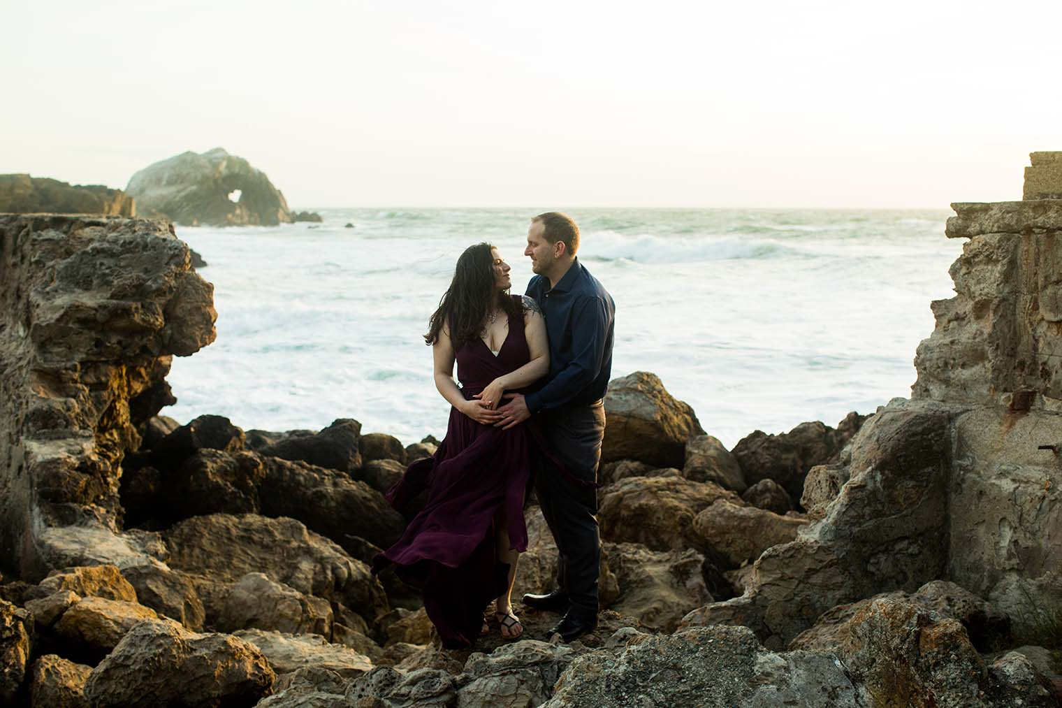 Sutro Baths Engagement Session